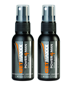 GETMAXXX Delay Spray (2 PACK - € 13,00 P.ST.)