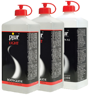 pjur  LIGHT (2) - ORIGINAL (1) Bodyglide - 3 Liter Pack