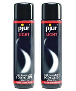 pjur LIGHT Bodyglide - 250 ml (2 Pack - € 19,25 p.st.)
