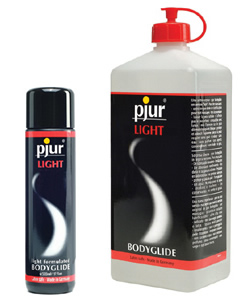 pjur LIGHT Bodyglide - Navulset (100 ml + 1 Liter)