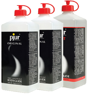pjur ORIGINAL (2) - LIGHT (1) Bodyglide - 3 Liter Pack