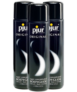pjur ORIGINAL Bodyglide - 100 ml (3 Pack - € 7,99 p.st.)