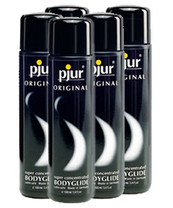 pjur ORIGINAL Bodyglide - 100 ml (5 Pack - € 7,75 p.st.)