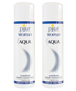 pjur WOMAN AQUA (glijmiddel) - 100 ml (2 Pack - € 8,25 p.st.)