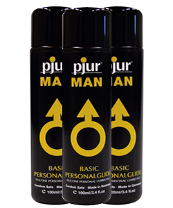 pjur MAN Basic Personalglide  30 ml (3 Pack - € 4,50 p.st.)