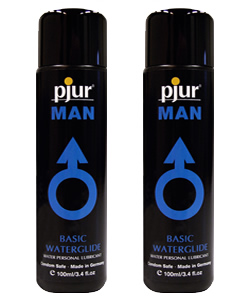 pjur MAN Basic Waterglide 100 ml (2 Pack - € 7,25 p.st.)