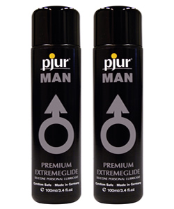 pjur MAN Extremeglide - 100 ml (2 Pack - € 13,00 p.st.)