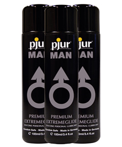 pjur MAN Extremeglide - 100 ml (3 Pack - € 12,50 p.st.)